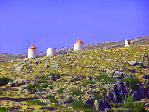 windmills of amorgos